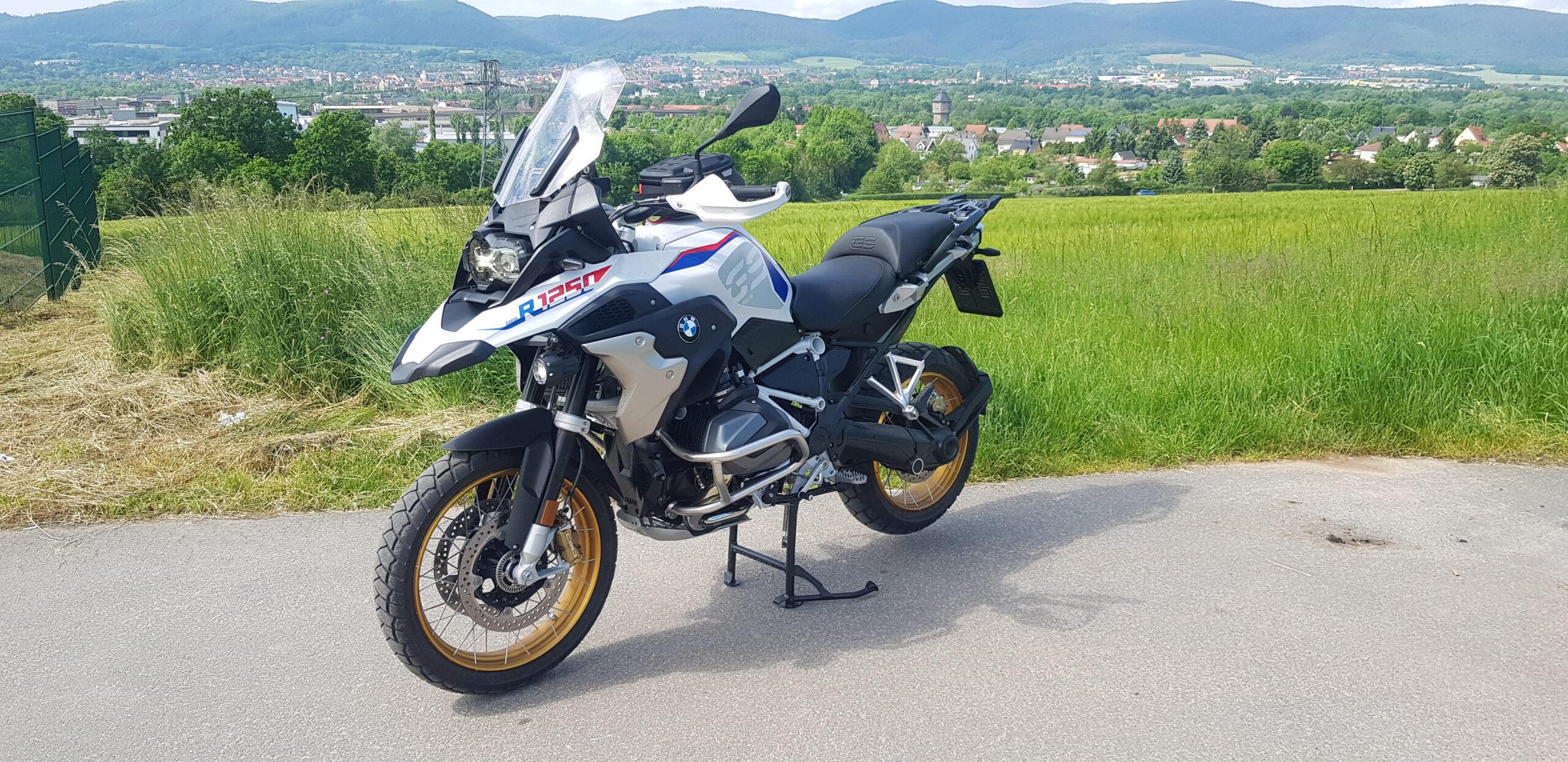 BMW R1250 GS, Klasse A, 136 PS, Begleitfahrzeug Fahrlehrer, Bike to Bike - Ausbildung